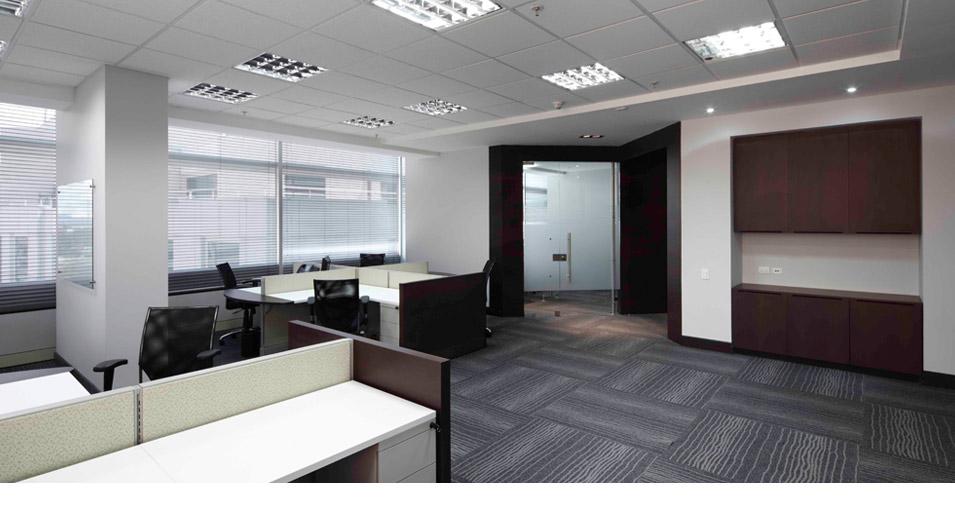 Espacios de trabajo for Planos de oficinas administrativas